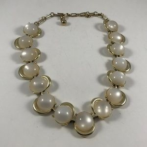 Vintage Faux Pearl Necklace, Vintage Jewelry